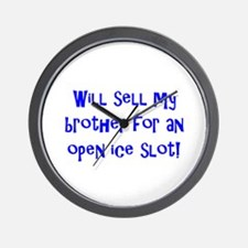 Will Sell My Brother Wall Clock