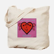 EarHeart Tote Bag