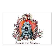 Bouvier Portrait Postcards (Package of 8)