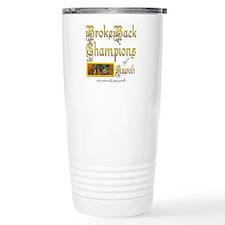 BrokeBack Champions Travel Mug