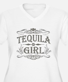 Vintage Tequila Girl T-Shirt