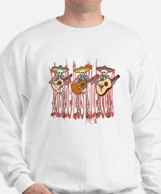 Mariachi Skeleton Trio Sweatshirt