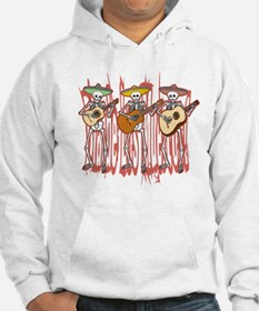 Mariachi Skeleton Trio Jumper Hoody
