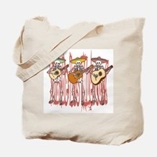 Mariachi Skeleton Trio Tote Bag