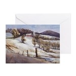 Warwick Winter Pine Is. Greeting Cards (Pack of 6)
