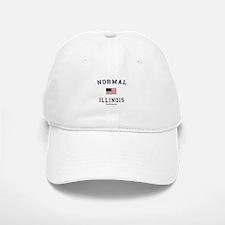 Normal (IL) Illinois T-shirts Baseball Baseball Cap