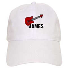 Guitar - James Baseball Cap