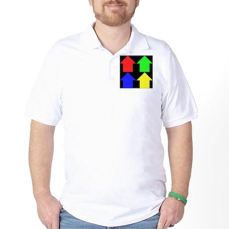 4 simple houses Golf Shirt