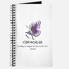 Journal W/Fibro Butterfly