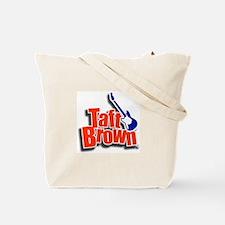 Cute Taft brown Tote Bag