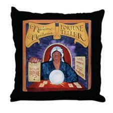 Madame Montana Throw Pillow