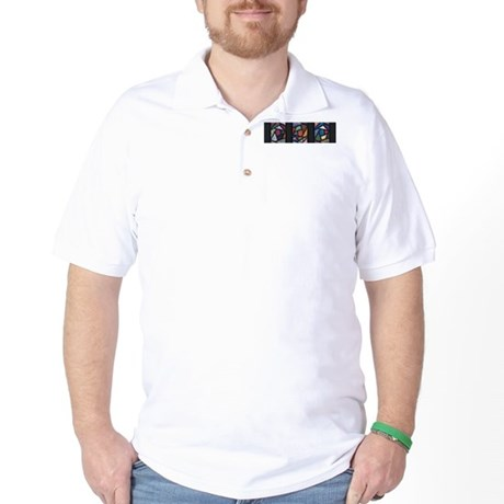 Stained Glass Soul Golf Shirt