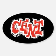 Cent Oval Decal