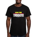 I Am The Denominator Men's Fitted T-Shirt (dark)