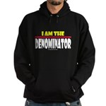 I Am The Denominator Hoodie (dark)