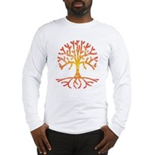 Distressed Tree IV Long Sleeve T-Shirt