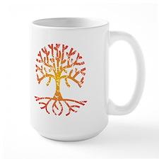 Distressed Tree IV Mug