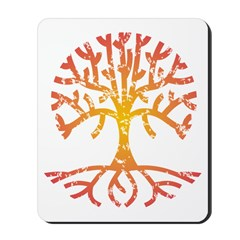 Distressed Tree IV Mousepad