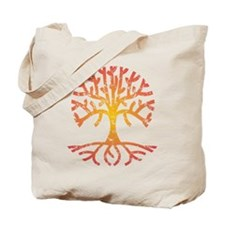 Distressed Tree IV Tote Bag