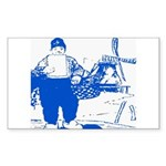 Dutch Boy Rectangle Sticker