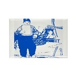 Dutch Boy Rectangle Magnet