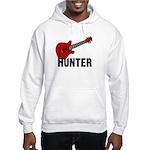 Guitar - Hunter Hooded Sweatshirt