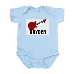 Guitar - Hayden Infant Creeper