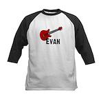 Guitar - Evan Kids Baseball Jersey