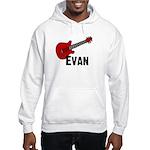 Guitar - Evan Hooded Sweatshirt