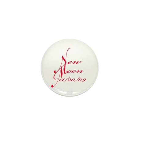 New Moon 11/20/09 Mini Button (100 pack)