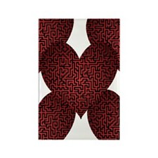 Heart is a Maze Rectangle Magnet (100 pack)
