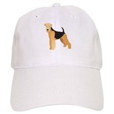 Cute Airedale terrier Baseball Cap