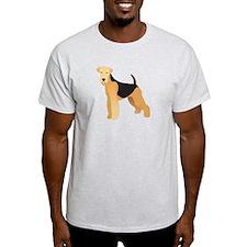 Unique Airedale terrier T-Shirt