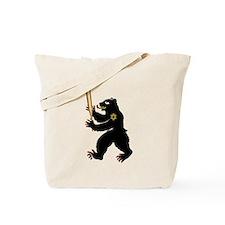 Bear Jew Inglorious Tote Bag