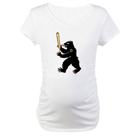 Bear Jew Inglorious Basterds Maternity T-Shirt
