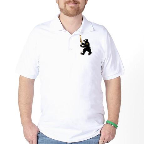 Bear Jew Inglorious Basterds Golf Shirt