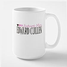 Future Mrs EC - pink Large Mug