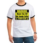 No coffee warning sign Ringer T