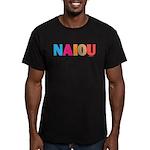 NAIOU Men's Fitted T-Shirt (dark)