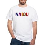 NAIOU White T-Shirt