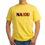NAIOU Yellow T-Shirt