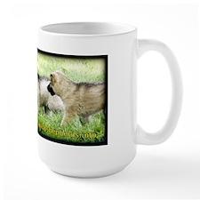 Shiloh Shepherd Puppies: Follow Me Mug
