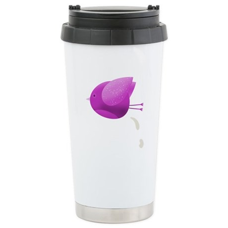 Bird Poop - Stainless Steel Travel Mug