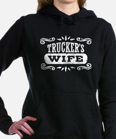 Trucker's Wife Women's Hooded Sweatshirt