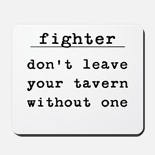 Fighter Mousepad