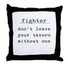 Fighter Throw Pillow