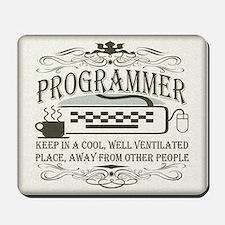 Vintage Programmer Mousepad