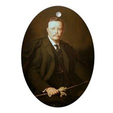 Theodore Roosevelt Christmas Ornament