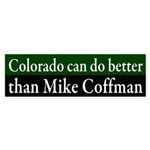 Colorado Mike Coffman bumper sticker