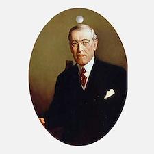 Woodrow Wilson Christmas Ornament